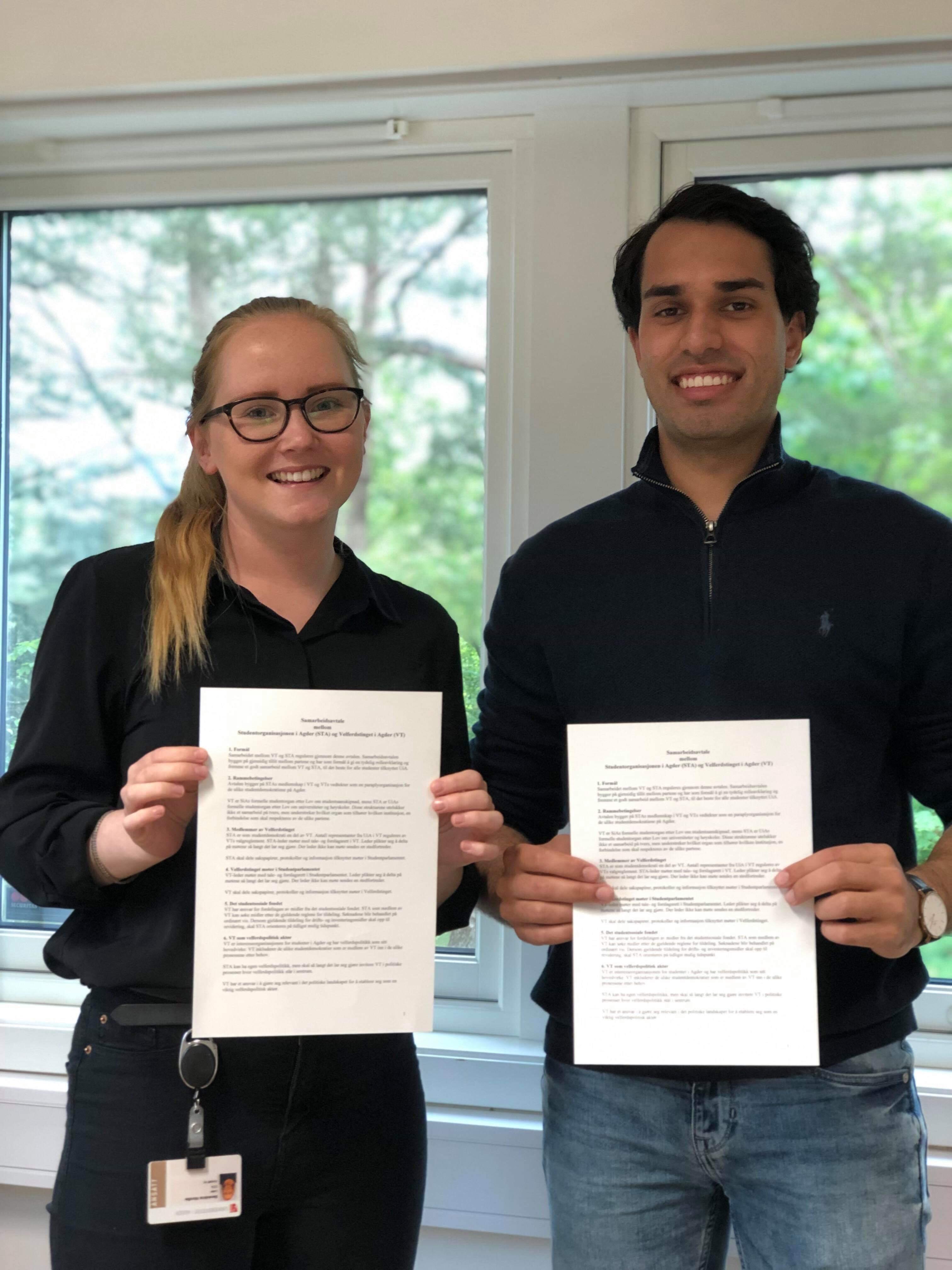 STA og VT har inngått samarbeidsavtale!