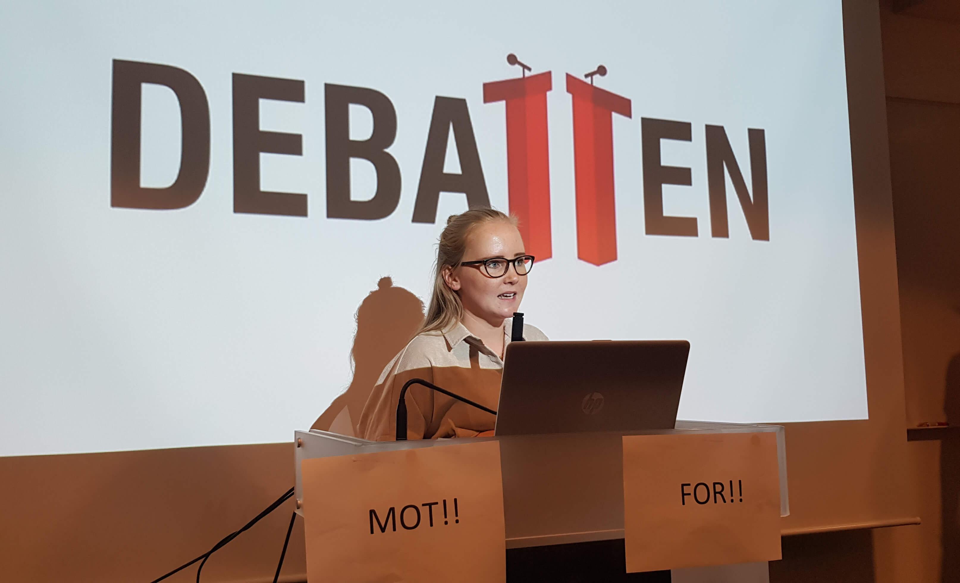 Benedicte Nordlie debatt