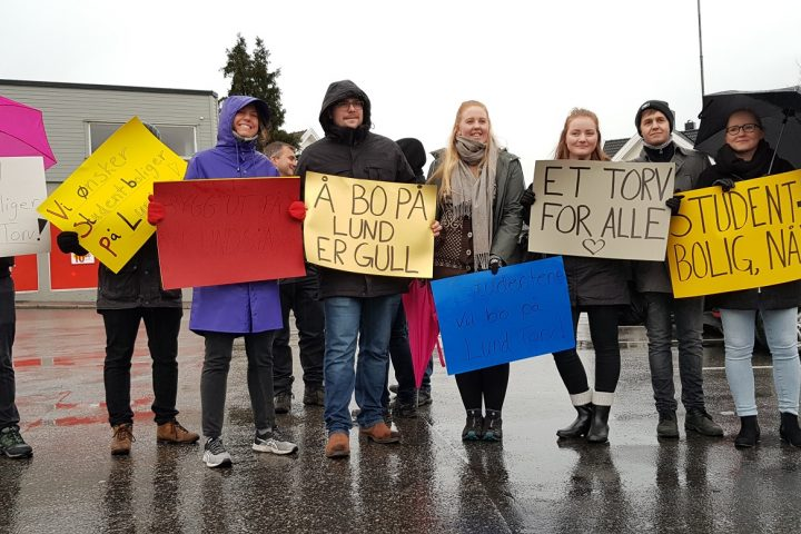 Studentboliger på Lund Torv – en kamp for tilværelsen