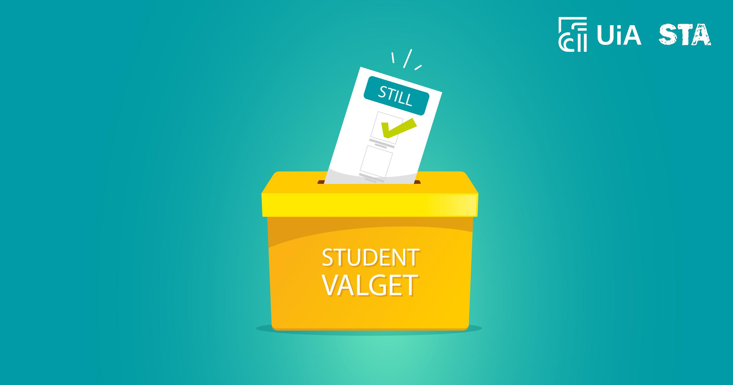 Nå starter årets studentvalg, og du kan stille!