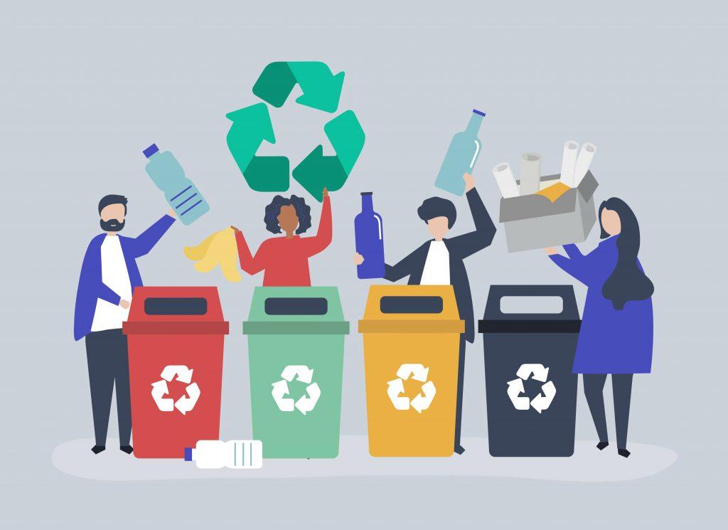 Sorter søppel, for et grønnere UIA!