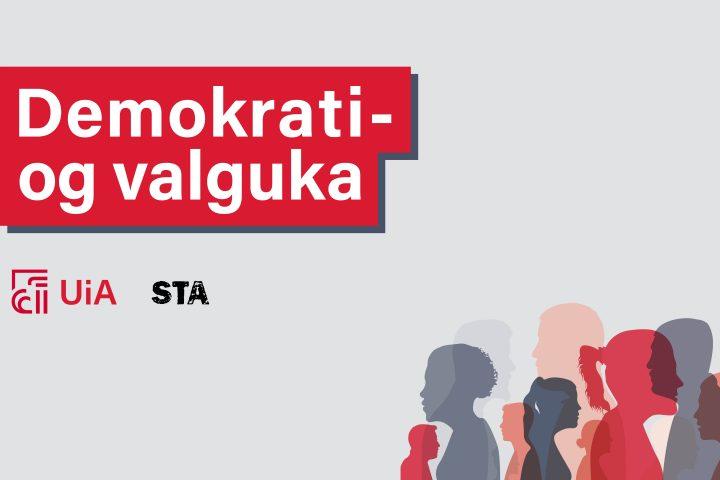 """""""Kva med demokratiet da?"""" Fyrste episode i podcastserien til Demokrati- og valguka ved UiA"""