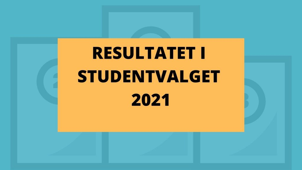Valgresultat Studentvalget 2021