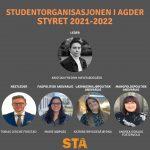 Nyvalgt STA-styre og representanter til UiA-styret